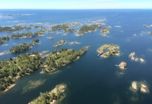Rocky islands of eastern Georgian Bay. Photo credit: Ellen Perschbacher