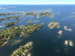 Rocky islands of eastern Georgian Bay. Photo credit: Ellen Perschbacher